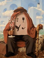 """The Liberator"", Rene Magritte (1947) (Joey Hinton) Tags: sanfrancisco california unitedstates rene magritte exhibit museum modern art google pixel2 andriod smartphone cellphone cameraphone phone"