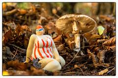 mushroom girl 1 (Mark Rigler -) Tags: fat lass girl woman sexy cute sweet female beauty face model scale figure swim suit sun glasses boobs tetas tatas size frauen hände brüste white bikini bathingsuit