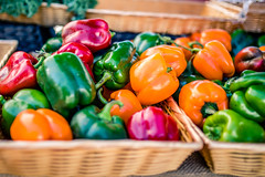 Pick a Pepper (rg69olds) Tags: 09152018 35mm 5dmk4 canoneos5dmarkiv nebraska sigma35mmf14artdghsm canon downtown farmersmarket omaha sigma peppers colorful basket fruit 35mmf14dghsm|a