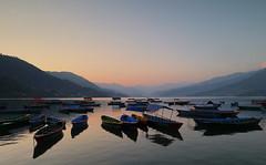 Phewa Tal (csnyder103) Tags: phewatal phewalake nepal sunset evening tranquil canoneosm5 canonefm1122