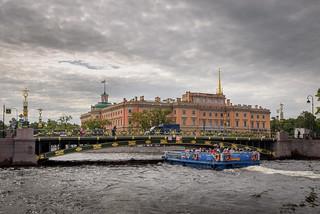 Saint Petersburg, Mikhailovsky Castle
