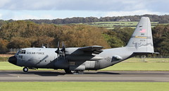 """""""RCH421"""" 74-1679 USAF Montana ANG Lockheed C-130H Hercules arriving at Prestwick along with 2 others for night stop from Ramstein.24/9/18 (BS Images.) Tags: us usaf unitedstates military lockheed lockheedmartin c130 c130h hercules montana airport aircraft aviation ayrshire egpk glasgowprestwick gpa prestwick prestwickairport pik southayrshire scotland 741679"""