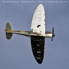 7345 Spitfire N3200 (photozone72) Tags: canon canon7dmk2 canon100400f4556lii 7dmk2 aviation aircraft duxford iwmduxford spitfire warbirds wwii