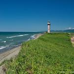 Lighthouse in Slepikovskogo Cape, Sakhalin thumbnail