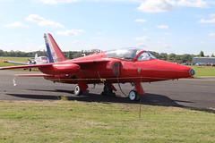 IMG_9625 (routemaster2217) Tags: northweald aviation aeroplane aircraft jetaircraft fighterjet jettrainer trainingaircraft follandgnatt1 bristolsiddeleyorpheus raf royalairforce gnatdisplayteam heritageaircraftltd xs104 gfrce