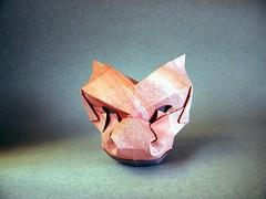 Máscara de Dragón - Jesús Artigas (Rui.Roda) Tags: origami papiroflexia papierfalten mask masque máscara de dragón jesús artigas