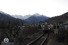 ALn 663-1011 (Treni In Foto) Tags: aln 663 treno regionale livrea xmpr linea ferroviaria aosta prè saint didier pierre