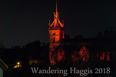 St Micheal's Church (wanderinghaggis) Tags: rememberance sunday poppey ww1 church light night red scotland scene sony a6000 architecture art wandering event exposure experement illumination image outdoor outside photography abstract skyline show dusk linlithgow landscape lothian lights exposed visual building