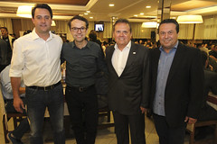 Jantar com Sindicato das Empresas de Segurança Privada do Paraná