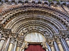 Portada Santo Estevo de Ribas de Miño, O Saviñao (Lugo) (Miguelanxo57) Tags: arquitectura medieval iglesia portada románico cantería arquivoltas capiteles ribeirasacra osaviñao ríomiño lugo galicia