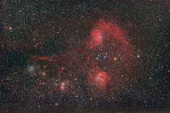 IC405, IC410, IC417 (abonis) Tags: canon 600d astrophotography stars night sky