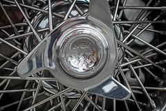 Lamborghini 350 GT Wheel (mjhbower) Tags: carsandcoffee malibu carsandcoffeemalibu carscoffee