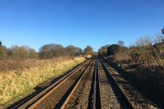 Liss, February 11th 2018 (Southsea_Matt) Tags: train railway railroad liss hampshire england unitedkingdom february 2018 spring iphone6 transport