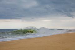 Sand, Sea, Sky (gseloff) Tags: ocean waves beach sand clouds sky atlantic capecodnationalseashore truro massachusetts gseloff