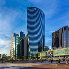 Glass And Steel (II) - La Défense, Paris, France (davidgutierrez.co.uk) Tags: photography davidgutierrezphotography city art architecture nikond810 nikon urban travel color night blue photographer tokyo paris bilbao hongkong uk people londonphotographer france skyscraper buildings lookingup tourd2 巴黎 パリ 파리 париж parís parigi colors colours colour europe beautiful cityscape davidgutierrez capital structure tour tower d810 street arts earlymorning businessdistrict îledefrance morning reflections bridge ladéfense ultrawideangle afsnikkor1424mmf28ged 1424mm streets road building contemporary modern metropolitan glassandsteel london skyscrapers highrise