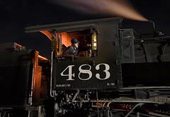 Highball Chama (jterry618) Tags: chama newmexico unitedstates us cumbrestoltecscenicrailroad drgw 483 steamlocomotive denverriograndewestern