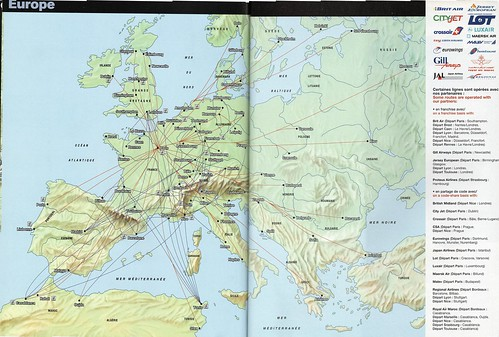 Flickriver: Photoset \'Airline Route Maps\' by airbus777