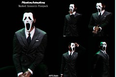 Phantom Animations - Masked Assassin (D. Phantom || Phantom Animations Owner) Tags: phantomanimations phantom animations maleposes mesh male femaleposes female bentoposes bento secondlife secondlifeposes secondlifecreators selfieposes poses unisexposes accessevent friendsposes