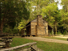 Cades Cove--Great Smoky Mountains (M R Stephens) Tags: appalachia architecture building easttennessee forest landscape nature outdoors smokies tennessee cadescove johnoliver cabin homestead pioneer 1800s