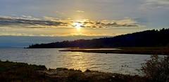 Union River Sunset (rve13) Tags: wetland hoodcanal unionriver hightide galaxys9