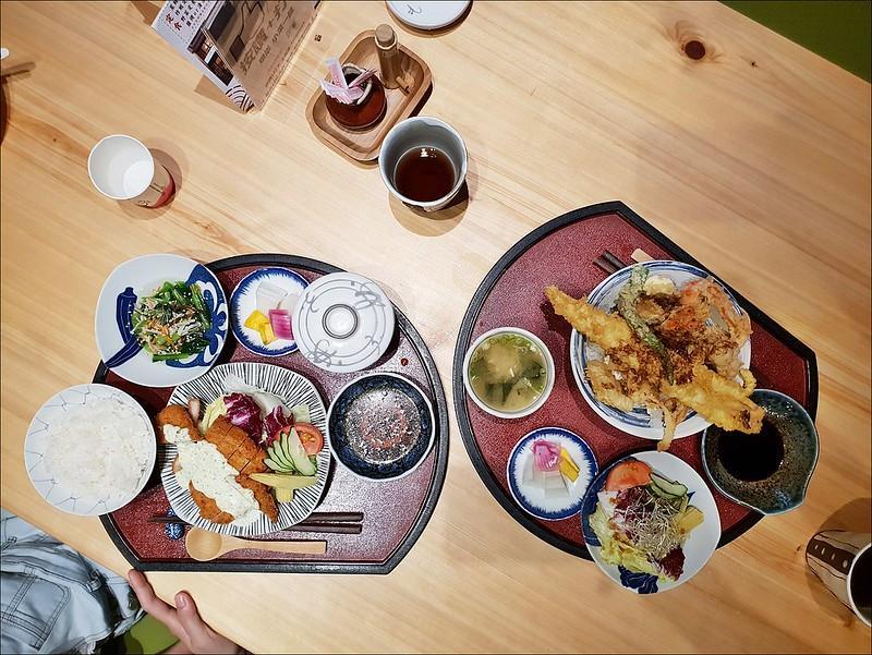 瑧淇日式天丼定食無菜單料理