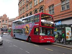 Nottingham City 948 King Street (Guy Arab UF) Tags: nottingham city transport 948 yn08msk scania n270ud east lancs omnidekka bus king street buses