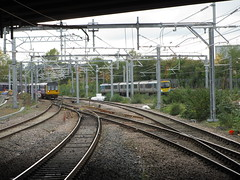 B434t Salford Crescent (61379 Mayflower) Tags: railway railways electrification