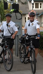 Police Bicycles (Scott 97006) Tags: bicycles police cops law street shorts gear men