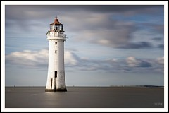 Perch Rock Lighthouse - New Brighton, England.  #perchrock #lighthouse #newbrighton #england #longexposure #merseyside (Paul_Dean) Tags: merseyside longexposure perchrock lighthouse newbrighton england