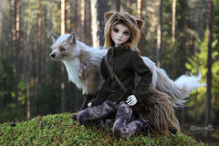 Donny of the woods (BblinkK) Tags: mirodoll 44cm boy daisy msd 14 bjd doll custom