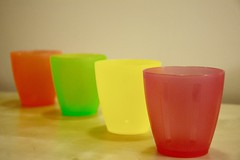 2018 Alphabet Challenge-P is for Plastic (oakwoodlott) Tags: nikon nikond7100 d7100 plastic colours neon beakers aachallenge