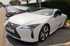 Lexus LC 500H (benoits15) Tags: lexus lc500h japan car supercar white castellet ricard paul circuit