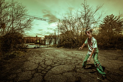 Is It Halloween Yet? (TheExplorographer.com) Tags: photography thewalkingdead abandoned adwheeler composite explore halloween sony sonyalpha sonyalphauniverse sonyimages travel zombie