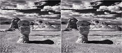 Formations IR III (turbguy - pro) Tags: bw infrared stereo 3d crosseye