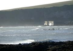 Waves and Sea Wall (chdphd) Tags: aberdeenshire kincardineshire stonehaven
