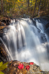 1-watermark-R (Brian M Hale) Tags: secret waterfall autumn leaves foliage long exposure breakthrough photography filters river stream rutland ma mass massachusetts outside outdoors nature new england newengland usa brian hale brianhalephoto