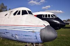 Vickers Cockpits (nickym6274) Tags: eastmidlandsaeropark eastmidlands uk castledonnington derby vivkersviscount vickersvanguard cockpit