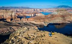 DJI_0048 (Greg Meyer MD(H)) Tags: lakepowell arizona utah alstrompoint aerial drone moon rugged erosion view beauty landscape drama barren desert deserted