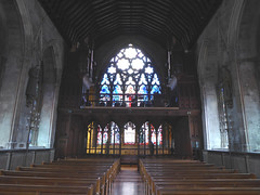 Interior looking West, St Etheldreda's, Ely Place (Aidan McRae Thomson) Tags: london church medieval chapel catholic stetheldredaelyplace