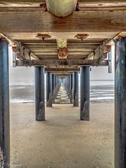 Urangan Pier (reggaeh) Tags: urangan queensland pier sand sea water seagulls photography
