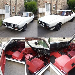 Jeremy's Wedding Adventure (Duchy Capri Club) Tags: ford capri wedding car st columb austell cornwall duchy classic club