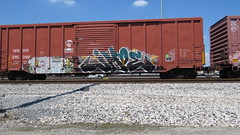 IMG_6743 (jumpsoner) Tags: benching benchingsteel benchingtrains bencher boxcars benchingfreights freights freightculture freightgraffiti foamer freghtculture traingraffiti trains trainspotting traingraff graffiti graffculture graff g