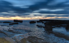 First Light Rocky Seascape (Merrillie) Tags: daybreak theskillion nature water terrigal nsw rocky sea clouds newsouthwales rocks earlymorning morning landscape centralcoast ocean australia sunrise waterscape coastal outdoors sky seascape dawn coast cloudy waves