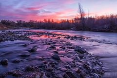 IMGP4001-HDR-Edit (Matt_Burt) Tags: color gunnisonriver motion reflection rocks sky sunset water whitewaterpark