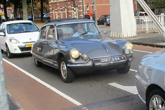 1966 Citroen DS21 (occama) Tags: dm7684 1966 citroen ds old car french grey silver netherlands holland dutch id