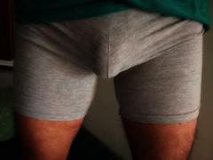 IMG_20180616_132419 (bulgeman4) Tags: bulge boxer shorts spandex lycra bike bulto