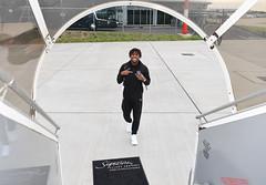 Arsenal Players Board the Team Flight to Azerbaijan (Stuart MacFarlane) Tags: sport soccer clubsoccer luton england unitedkingdom gbr