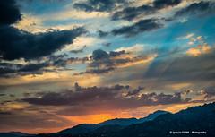 Sunset (Ignacio Ferre) Tags: sunset puestadesol manzanareselreal madrid españa spain landscape paisaje nikon cielo montaña nubes clouds sky mountains