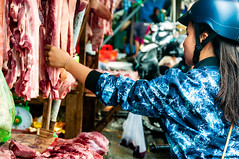 Phu Quoc, Vietnam (Kevin R Thornton) Tags: d90 daymarket food butcher travel street people market phuquoc nikon vietnam meat duongdong thànhphốphúquốc tỉnhkiêngiang vn