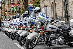 Police Motorcycle Chrome (Dan Dewan) Tags: 2018 street dandewan canonefs18135mm3556is sunday art police motorcycle parliamenthill ottawa ontario canada canon fall confederationboulevard colour